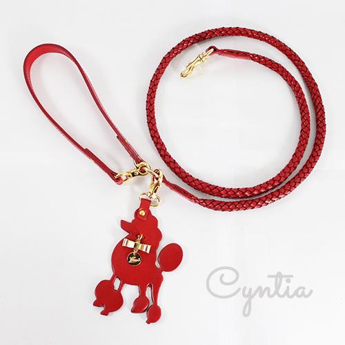 犬 リード Cyntia 2nd  レッド