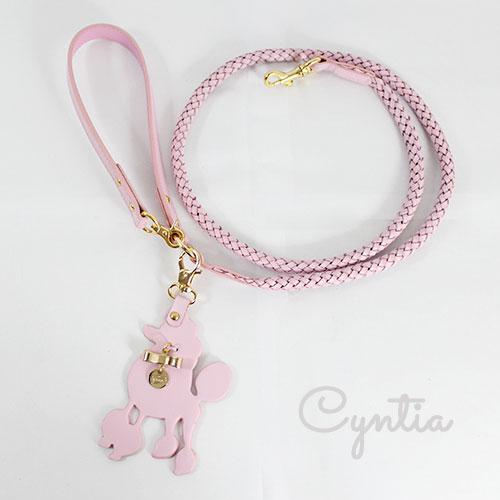 犬 リード Cyntia 2nd ピンク