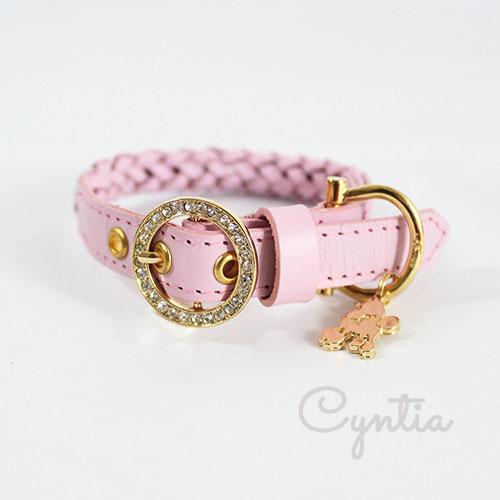 犬 首輪 リード Cyntia 2nd ピンク