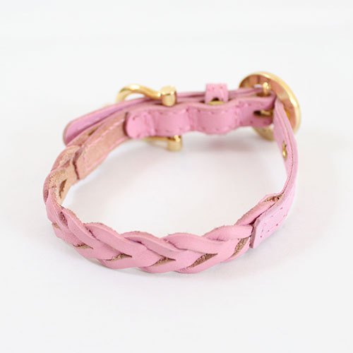 犬 首輪 リード Charlotte 1st ピンク