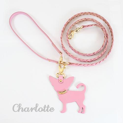 犬 リード Charlotte 1st ピンク