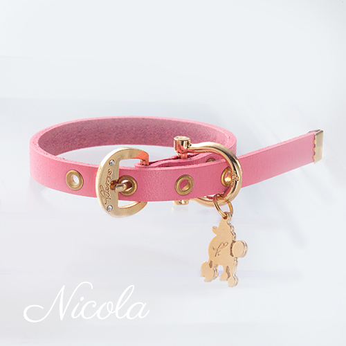 【Nicola】首輪 ピンク S