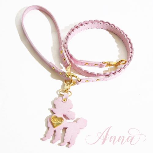 犬 首輪 ピンク