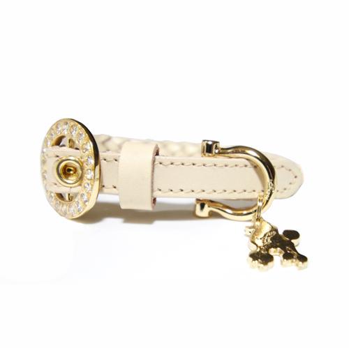 シンシア 細幅 小型犬用 首輪 リード