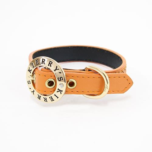Liz 首輪 オレンジ 犬 首輪 かわいい