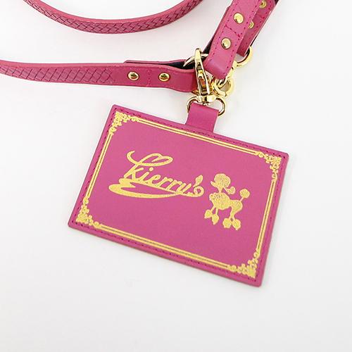 Liz リード ショッキングピンク 犬 リード 首輪 かわいい
