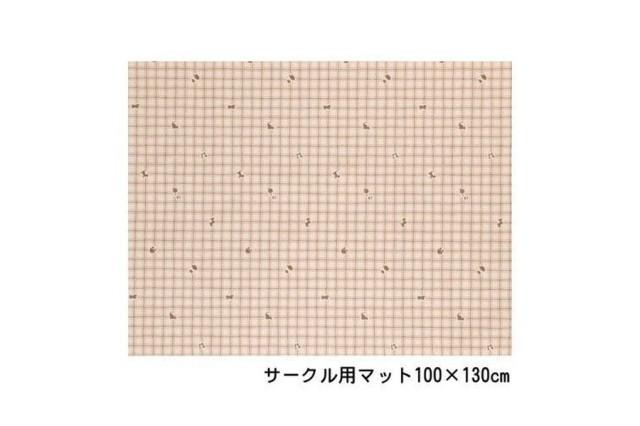サークルマット 100×130 03柄(Lサイズ適合)