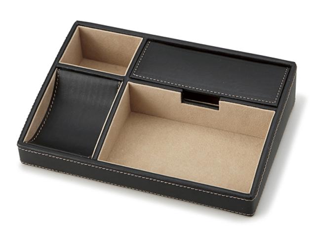 小物を手軽に収納できる人気アイテム オーバーナイター 240-432(ブラック)