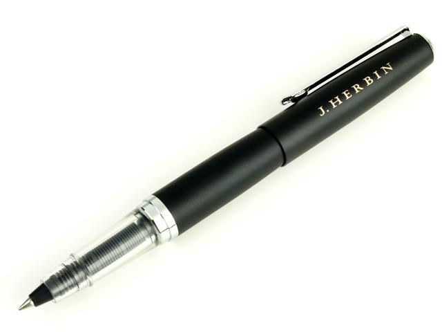 J.HERBIN エルバン カートリッジ式インクペン インクローラーボールペン (ブラック) HB-pen05