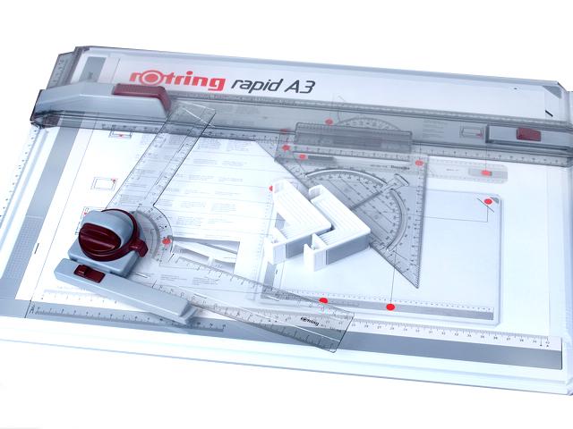 rotring ロットリング 製図板 ラピッドボードプロセット A3 523 4032PRO
