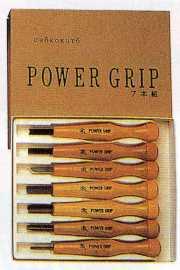 三木章 パワーグリップ彫刻刀セット