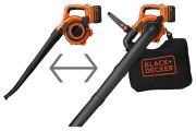 BLACK&DECKER 36V 充電式ガーデンブロワー GWC36N(バッテリ、充電器付)