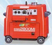 新ダイワ エンジン溶接機(発電機兼用)ウエルダ EGW2800MI 個人宅不可
