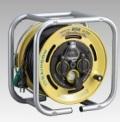 ハタヤ 段積みリール 屋外用防雨型 漏電遮断器付(接地付) 30m DSBE-30KC型