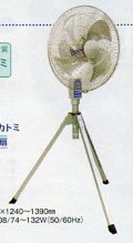 ナカトミ 45cmアルミ羽根作業扇 OPF-18A