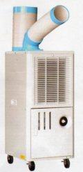 プロモート スポットクーラー P407ND(首振りなし) 排熱ダクト付 個人宅不可