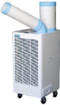 ナカトミ スポットクーラー N407-R(首振りなし)  排熱ダクト付 会社送りのみ(個人宅不可) 代引不可