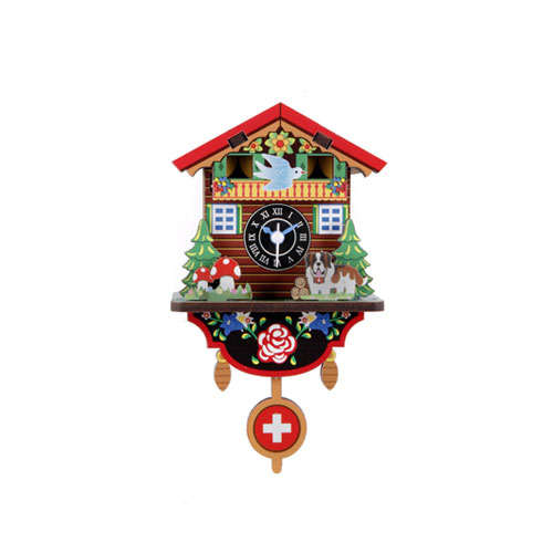 Make Your Own Swiss House (メイクユアオウンスイスハウスクロック)