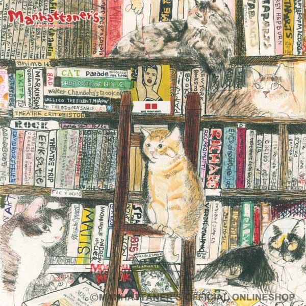 MAN‐35 本棚猫拡張版[マンハッタナーズ MANHATTANER'S]