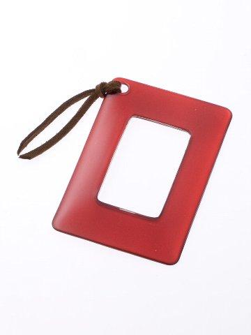 [アウトレット]カードルーペ9625 レッド [倍率1.8]