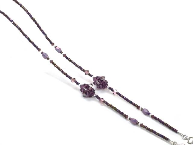 スワロフスキーチェーン9006‐01 パープル