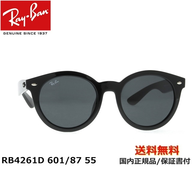 [Ray-Ban レイバン] RB4261D 601/87 55