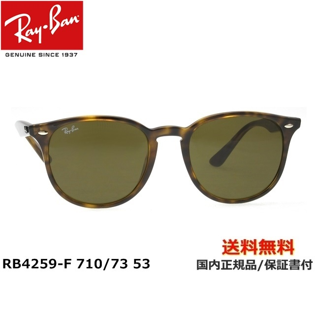[Ray-Ban レイバン] RB4259-F 710/73 53