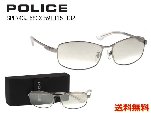 [POLICE ポリス]  SPL743J 583X 59 [サングラス]