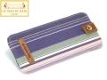 特注ソフトメガネケース プチ-リュ-デュ-バック‐ヴィオレ(2)/PETITE RUE DU BAC Violet[レ・トワール・デュ・ソレイユ Les Toiles du Soleil]