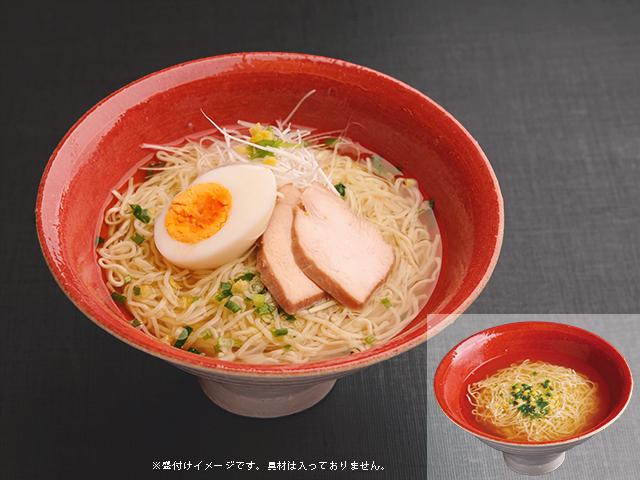 鶏塩スープ麺