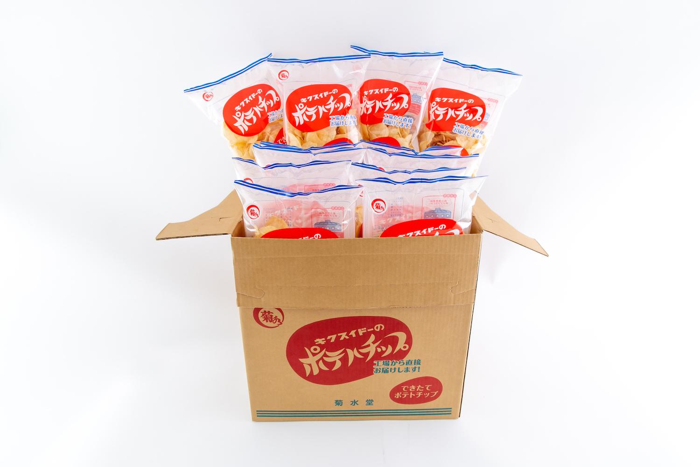 大箱!送料無料!【3月18日~発送】 『できたてポテトチップ』120g×12袋×1箱