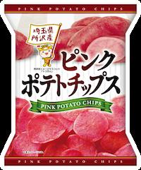 【予約販売・製造数未定】『ピンクポテトチップス』60g×5袋×1箱【1箱】
