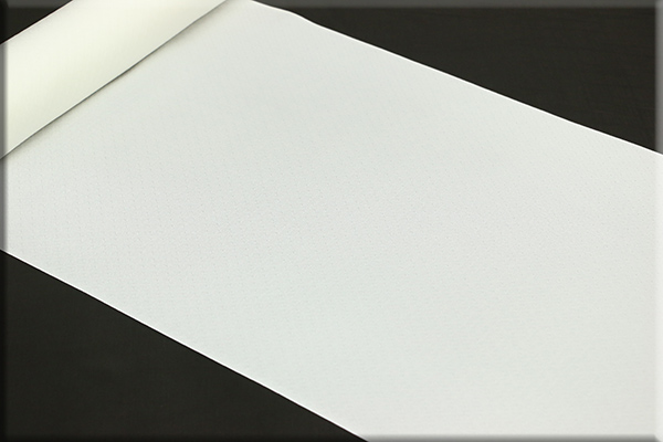 京都浅見謹製 広巾(広幅)夏紗長襦袢 オーダーお仕立付き 菱上布 絹100%  背の高い方にオススメ!