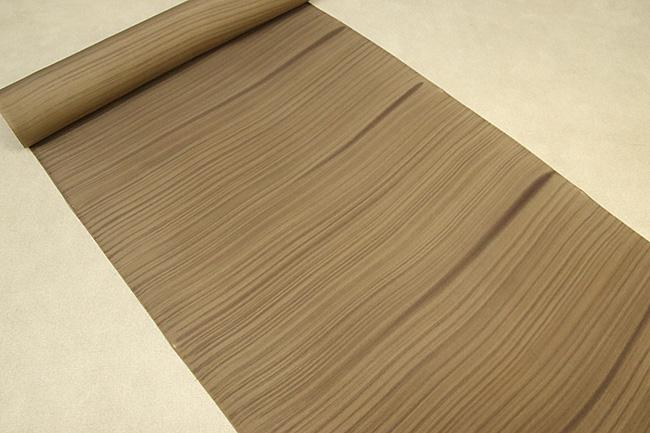 京都浅見謹製 正絹長襦袢 オーダーお仕立付き 叢雲 絹100% 茶 ◆男女兼用◆
