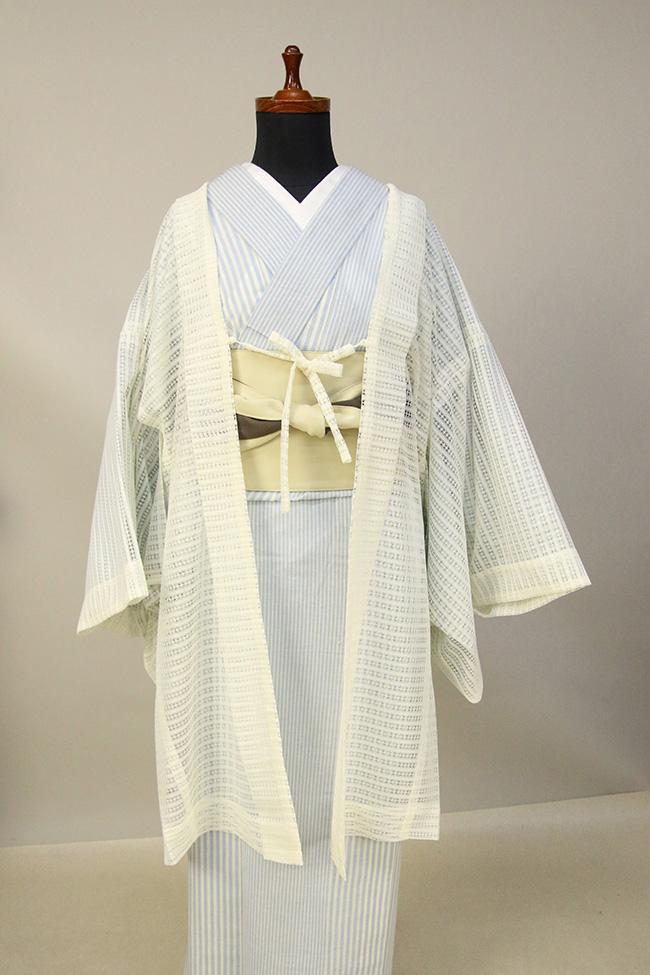 Kimono Factory nono レースの薄羽織 Sheer エクリュ