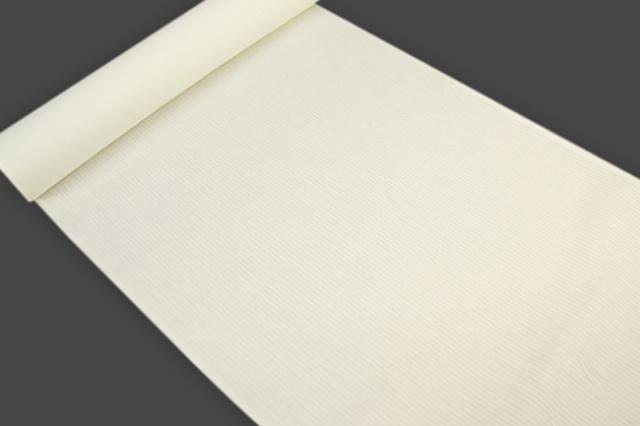 アイスコットン 夏の綿麻長襦袢 オーダー仕立付 近江 綿麻 白 男女兼用