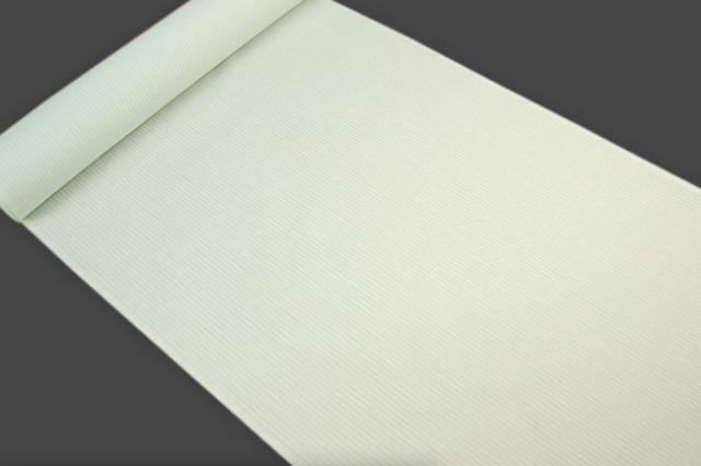 アイスコットン 夏の綿麻長襦袢 オーダー仕立付 近江 綿麻 薄緑 男女兼用