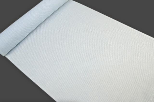 アイスコットン 夏の綿麻長襦袢 オーダー仕立付 近江 綿麻 薄青 男女兼用