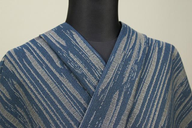 Kimono Factory nono 木綿着物 オーダーお仕立て付き GRITTER(グリッター)シェード 納戸色