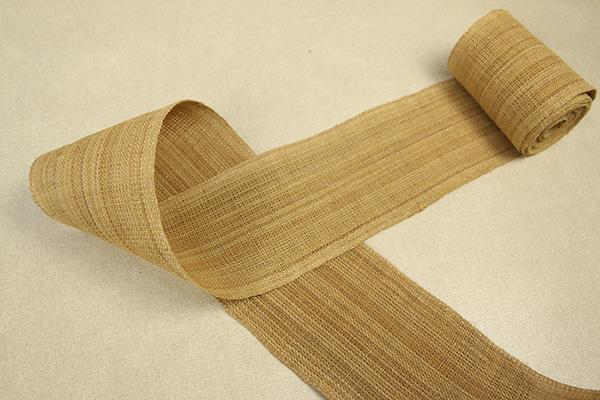 角帯 シナ布 しな糸100% 茶
