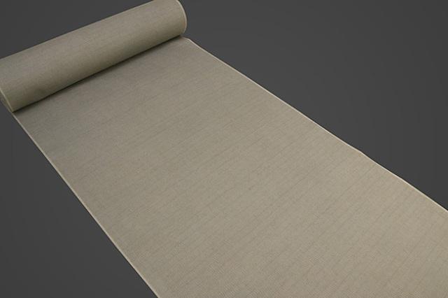 【受注生産品】京都 藤井絞 はごろ木綿 広幅 オーダー仕立て付き 洗える普段着着物 無地 サンドベージュ