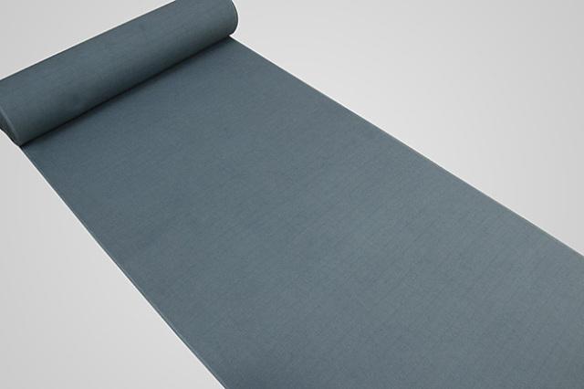 【受注生産品】京都 藤井絞 はごろ木綿 広幅 オーダー仕立て付き 洗える普段着着物 無地 青緑