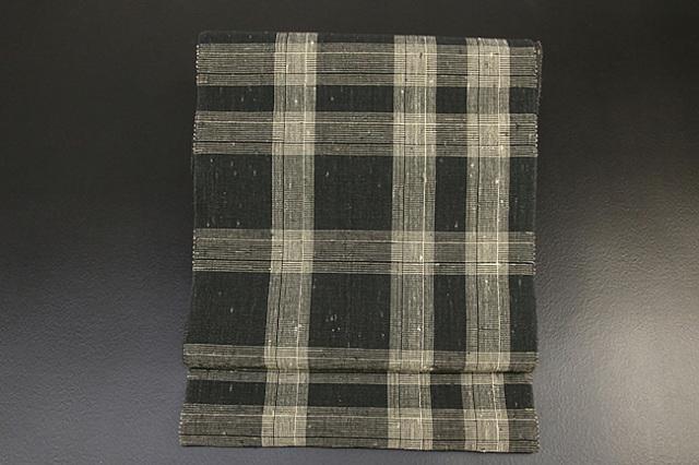 【アウトレット商品】諸紙布 八寸名古屋帯 お仕立て付き