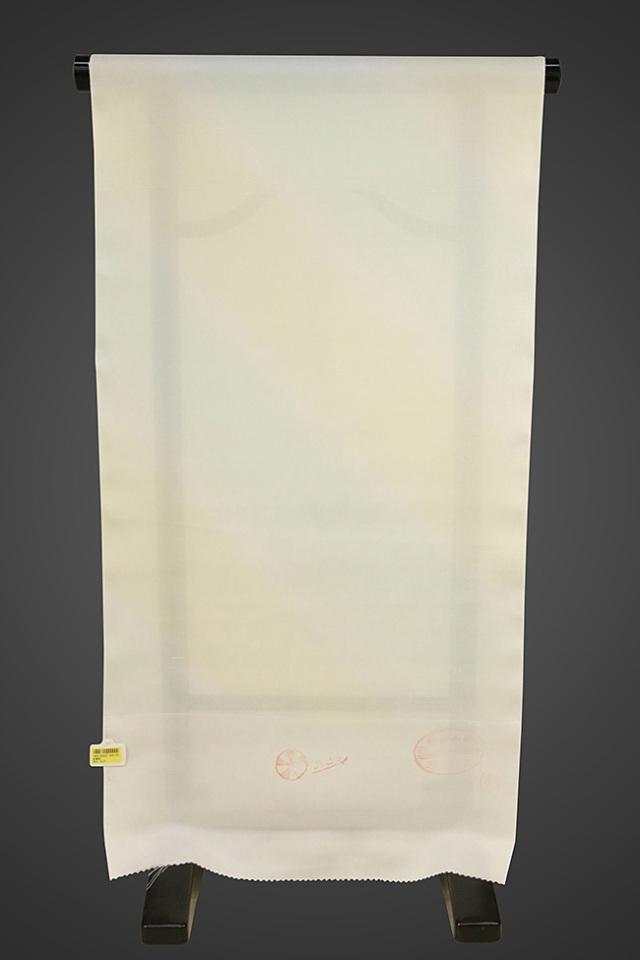 京都浅見謹製 並巾夏紗長襦袢 オーダーお仕立付き 王上布 絹100% 涼み ミント