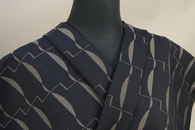Kimono Factory nono 木綿着物 オーダーお仕立て付き GRITTER(グリッター)カイハ 黒