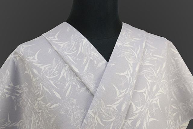 Kimono Factory nono 木綿着物 オーダーお仕立て付き GRITTER(グリッター)リュウコ 灰