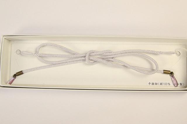 女性用羽織紐 れん ライトグレー