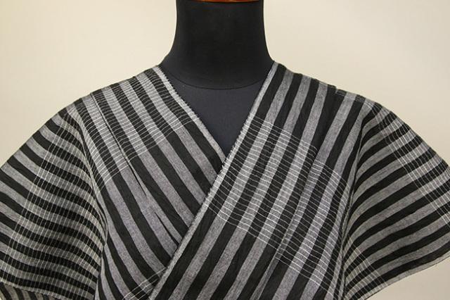 Kimono Factory nono 麻着物 chrome 弦×兆 オーダー仕立て付き