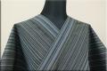 遠州木綿 木綿着物 オーダーお仕立て付き 変わり縞 s-01- 木漏れ日KOMOREBI  ◆男女兼用◆