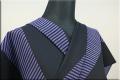 Kimono Factory nono 木綿着物 オーダーお仕立て付き GRITTER(グリッター)Slideスライド 青紫